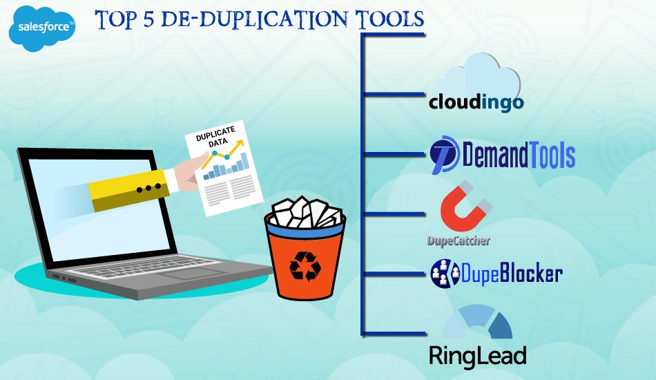 TOP 5 DE-DUPLICATION TOOLS