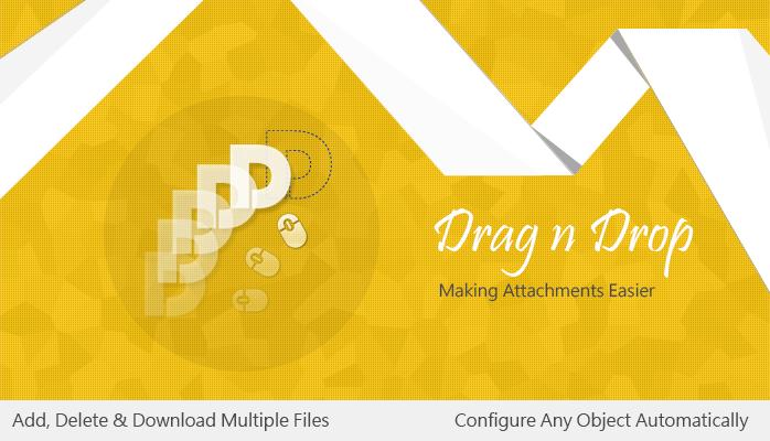 Drag n Drop Salesforce App
